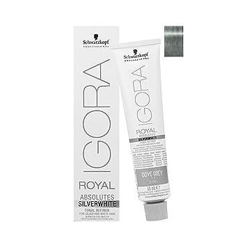 8ecdbfecae Schwarzkopf Igora Royal Absolutes SILVERWHITE Tonal Refiner (Dove Grey) by  Schwarzkopf: Amazon.ca: Beauty