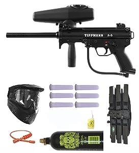 Tippmann A-5 w/ Selector Switch Paintball Marker Gun 3Skull Mega Set