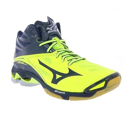poimittu kuumia uusia tuotteita ostaa paras Mizuno Wave Lightning Z2 MID Men Volleyball Shoes Blue ...