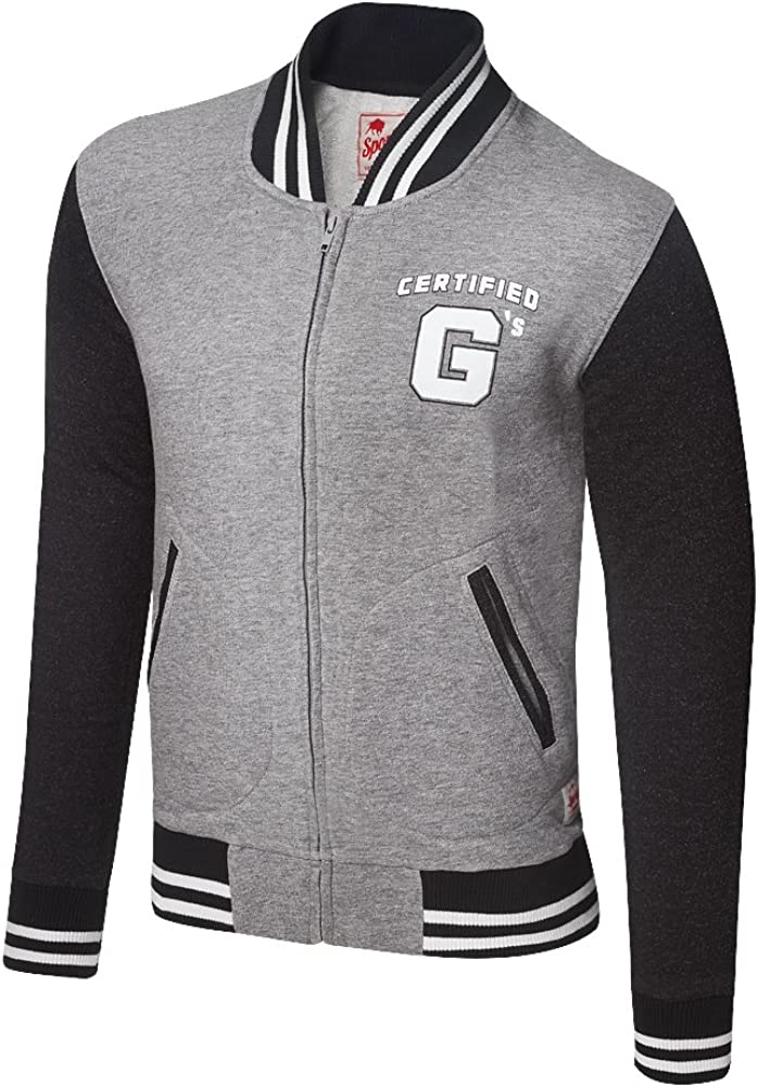WWE Enzo and Big Cass Certified G Baseball Jacket