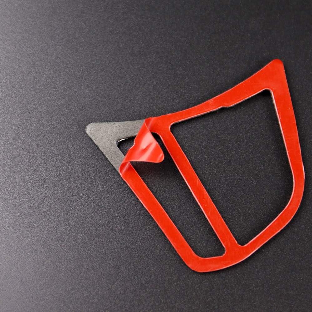 Car Steering Wheel Button Sticker Carbon Fiber Cover Trim Frame Decoration for BMW F30 F31 F32 F33 F34 2012-2020