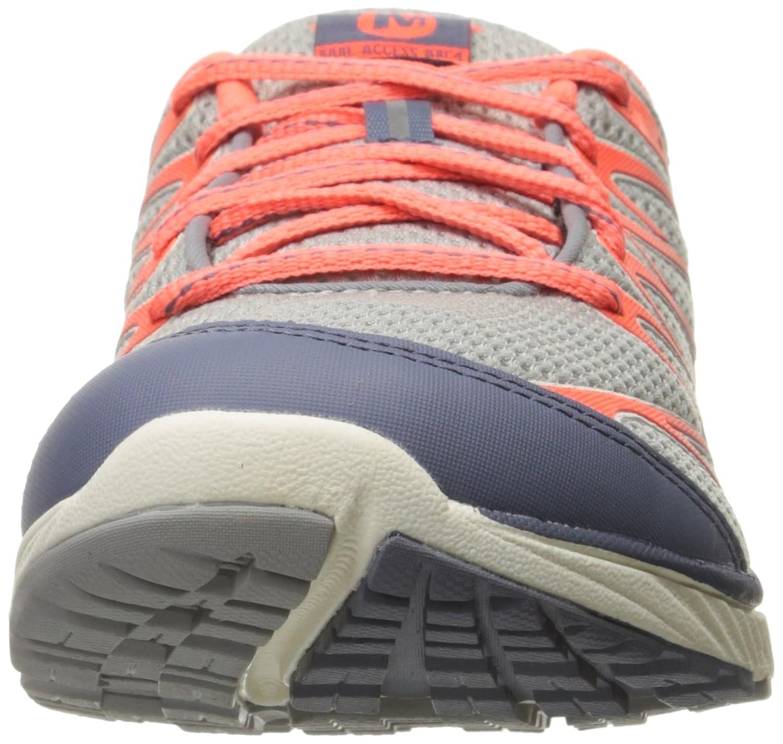 Merrell Bare Access Arc 4, Chaussures de Trail Femme, Multicolore (Sleet/Vibrant Coral), 36 EU