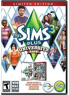 Amazon com: The Sims 3 University Life: PC: Video Games
