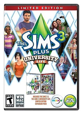 sims 3 university life free download mac