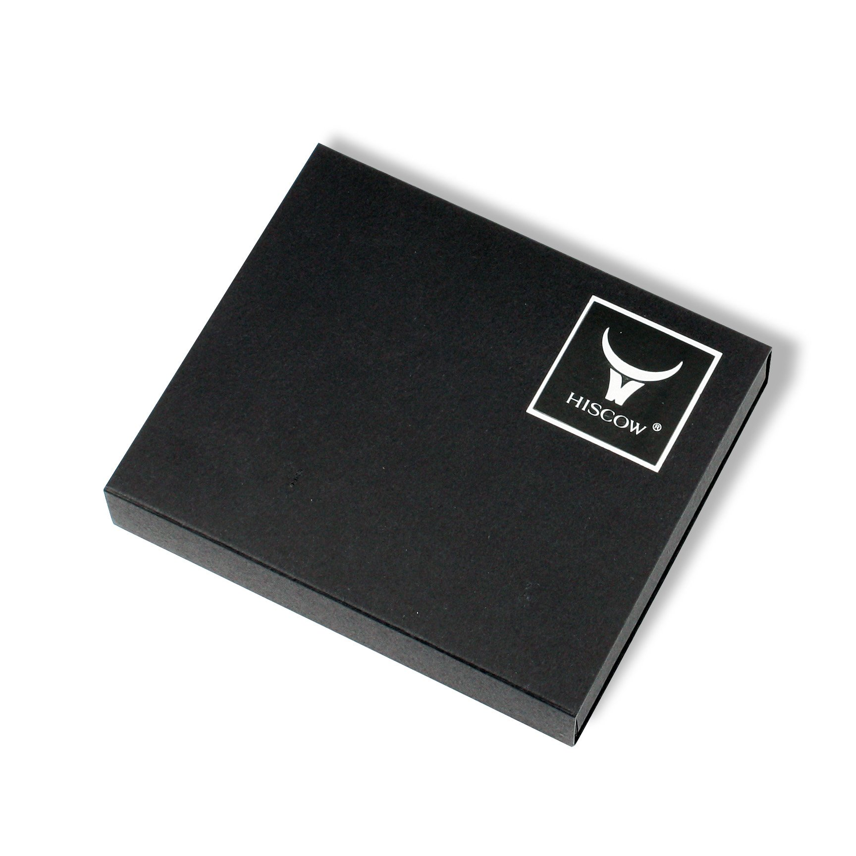 HISCOW Men's Business Card Holder with Large Compartment - Italian Calfskin by HISCOW (Image #6)
