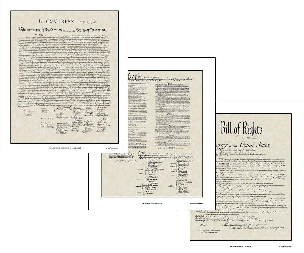 Declaration of Independence Congress Thomas Jefferson Print Poster 20x24