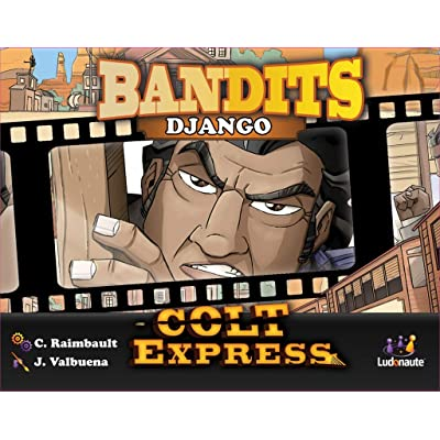 Ludonaute COLT07, Colt Express Bandit Pack: Django Expansion Toy, Multicolor: Toys & Games