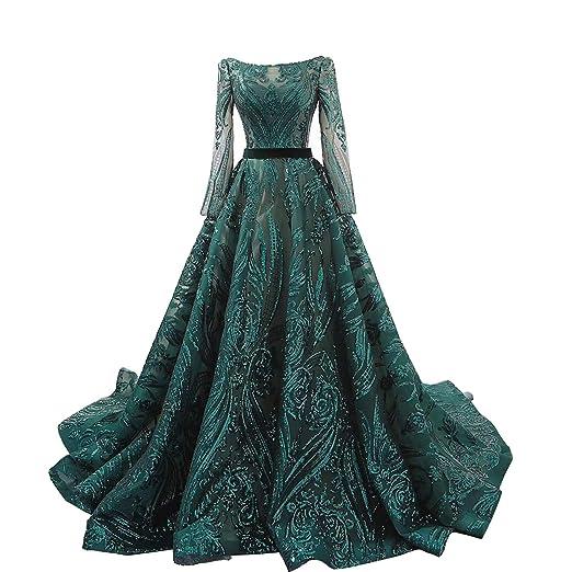 Amazoncom I Bay U Foreign Trade Sequins Lace Evening Dresses Long