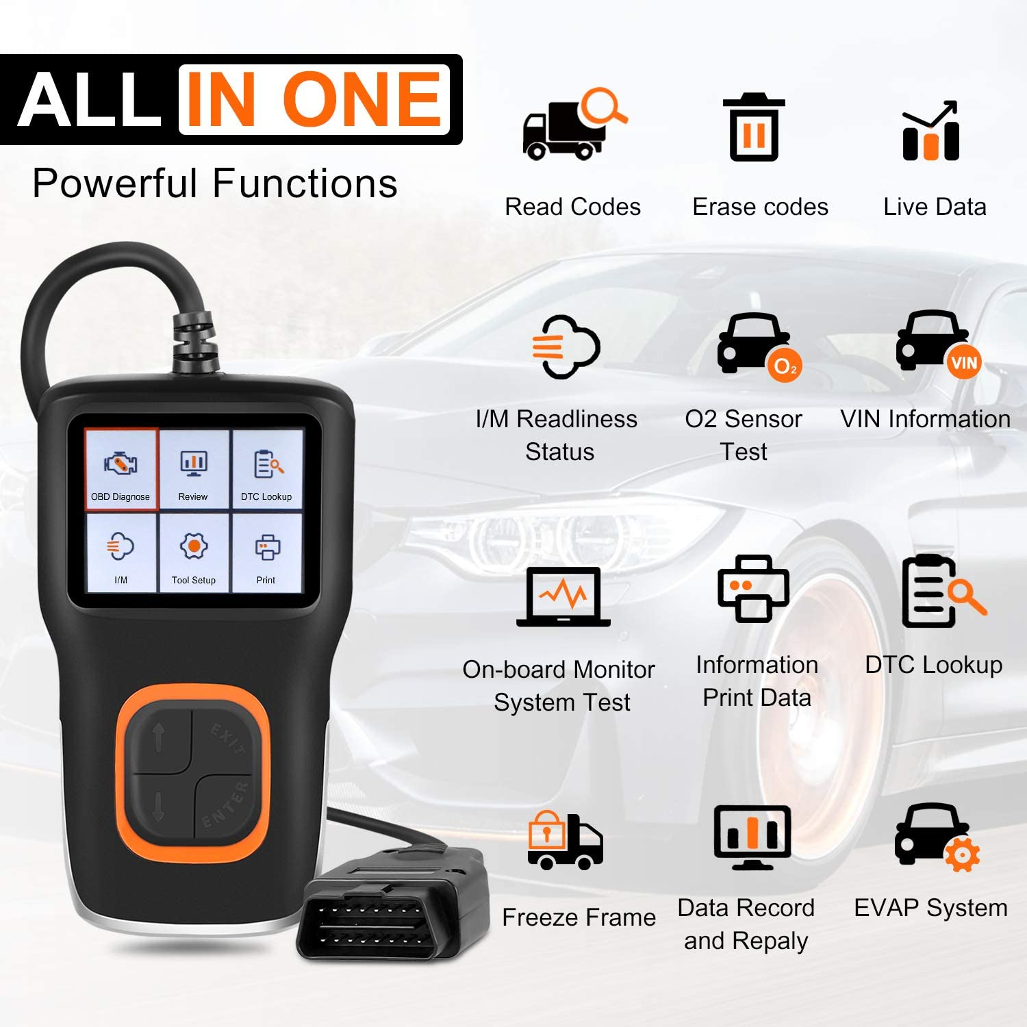 OBD2 Scanner Code Reader