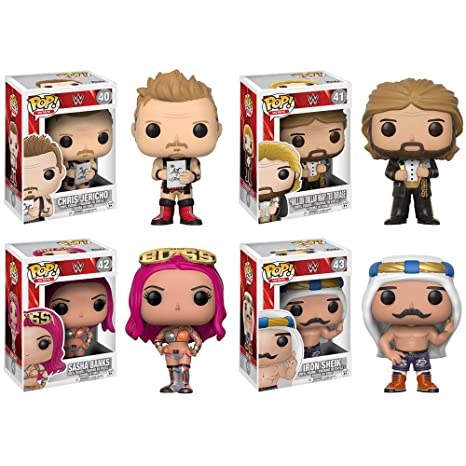 """WWE CHRIS JERICHO con elenco 3.75/"""" POP Figura in Vinile FUNKO Nuovo di Zecca 40"""