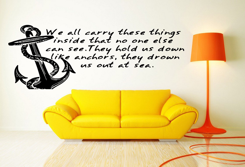 Amazon.com: Wall Vinyl Sticker Decals Mural Room Design Pattern Art ...