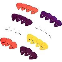 AmazonBasics - Púas de guitarra de colores lisos