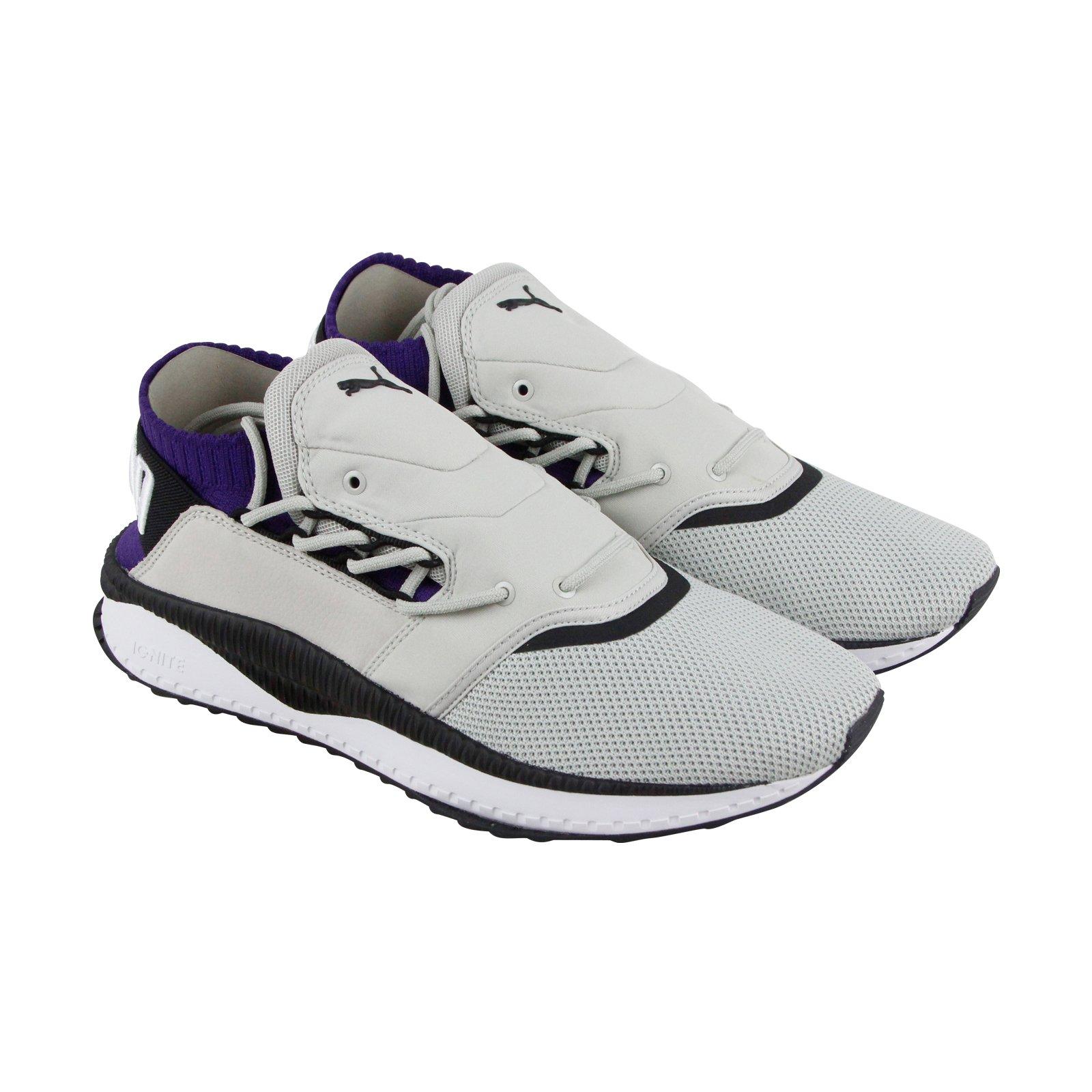 775ff38b8e12 Galleon - PUMA Tsugi Shinsei Fresh Mens Gray Textile Athletic Slip On  Running Shoes 11
