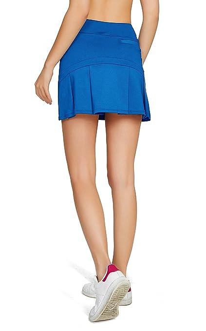 c456f80502967 Amazon | (オナースポーツ) HONOURSPORT レディース トレーニング テニス スカート インナースパッツ付 | スカート 通販