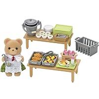 Sylvanian Families - 5108 - Mini-poupée - Set Déjeuner Scolaire