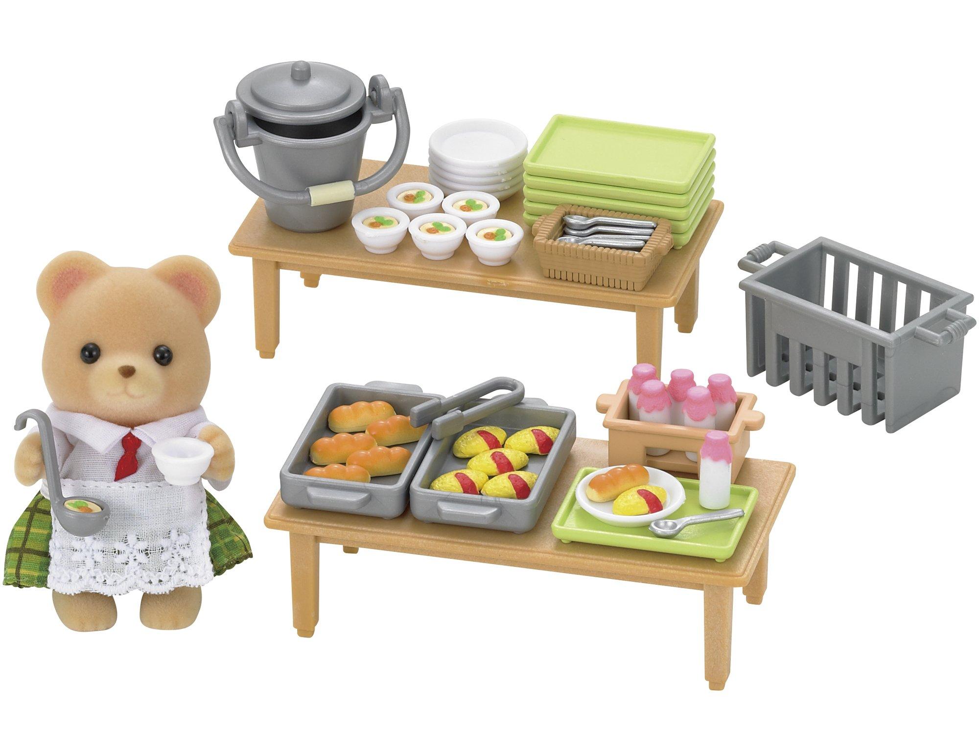 Sylvanian Families - 5108 - Mini-poupée - Set Déjeuner Scolaire product image