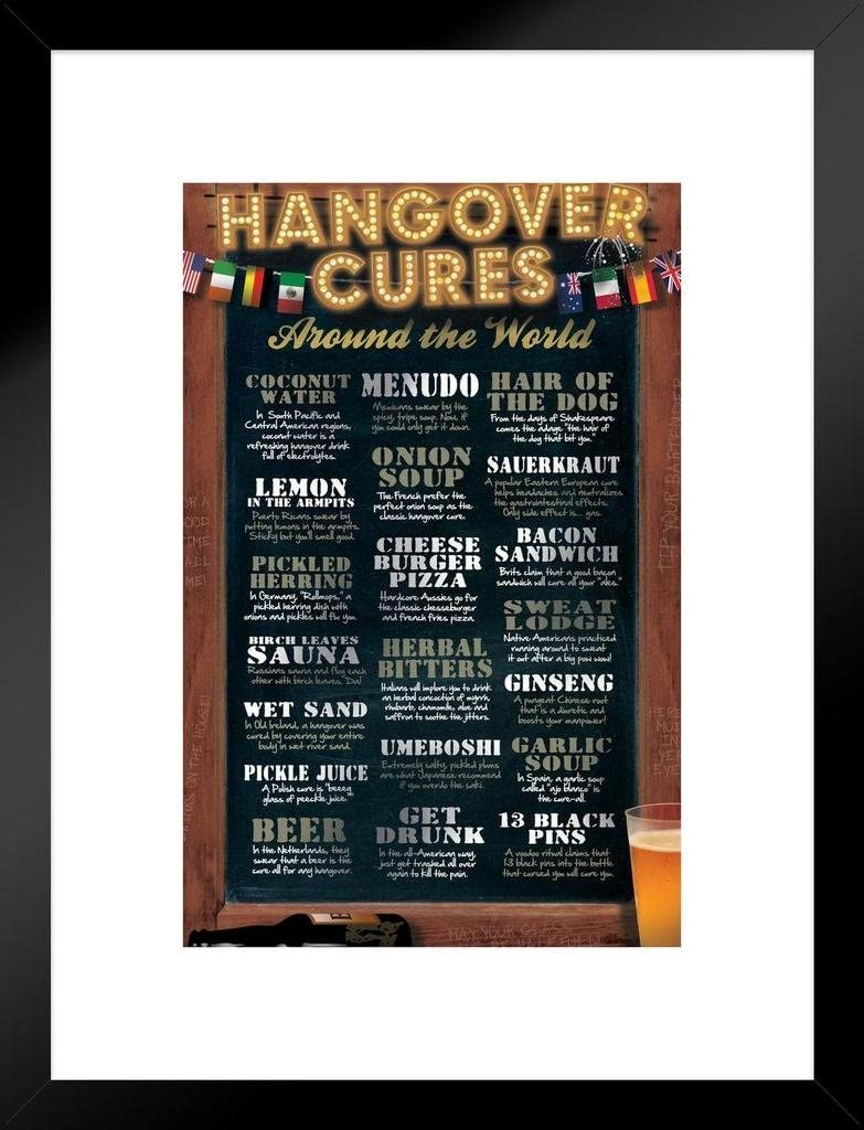 POSTER Hangover Cures Around The World
