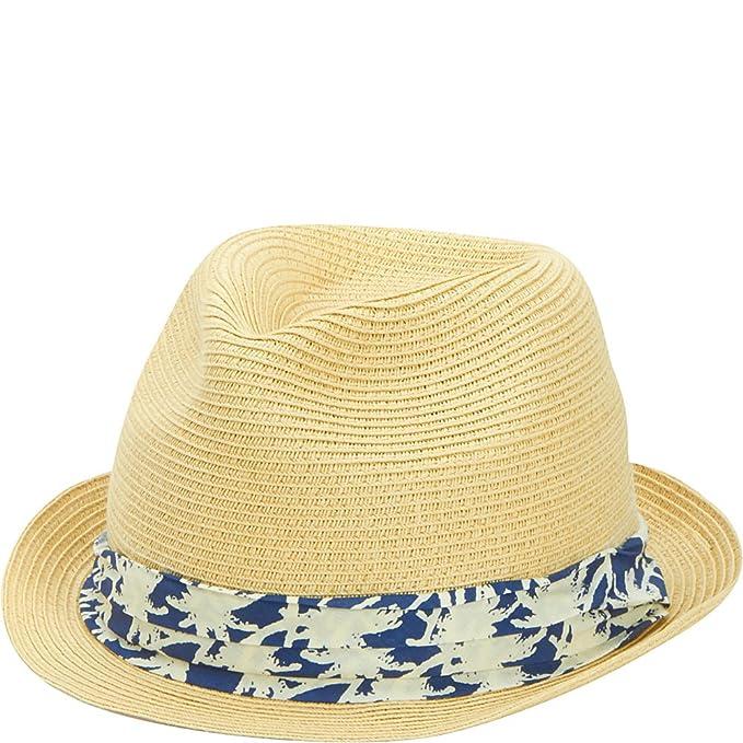 07ac088e61a Amazon.com  San Diego Hat Company Kid s Palm Tree Band Fedora Hat ...