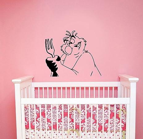 Amazon.com: Disney Scuttle Vinyl Wall Decal Little Mermaid Cartoon ...