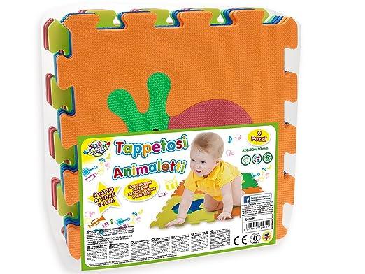 100 opinioni per Teorema 72475- Tappetini Puzzle con Animali, colori assortiti, 9 pezzi