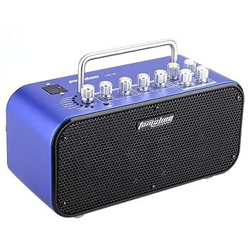 Andoer® Aroma TM-10 10W Amp Amplificador Altoparlante Altavoz para Guitarra Eléctrica Built-in Sintonizador Toque Función Control del Efecto de Tono del ...
