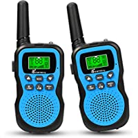 2-Pack Vansky 22 Channel 2 Way Radio Walkie Talkies For Kids Built-In Flashlight (Blue)
