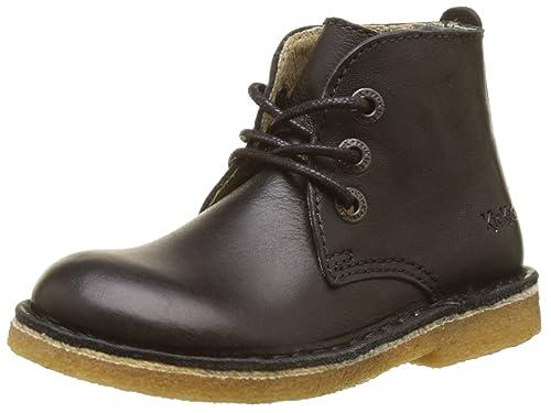 e34e6ba664804 Kickers Boys' REALKIZ Desert Boots, Black (Noir 8), 12.5UK Child: Amazon.co. uk: Shoes & Bags
