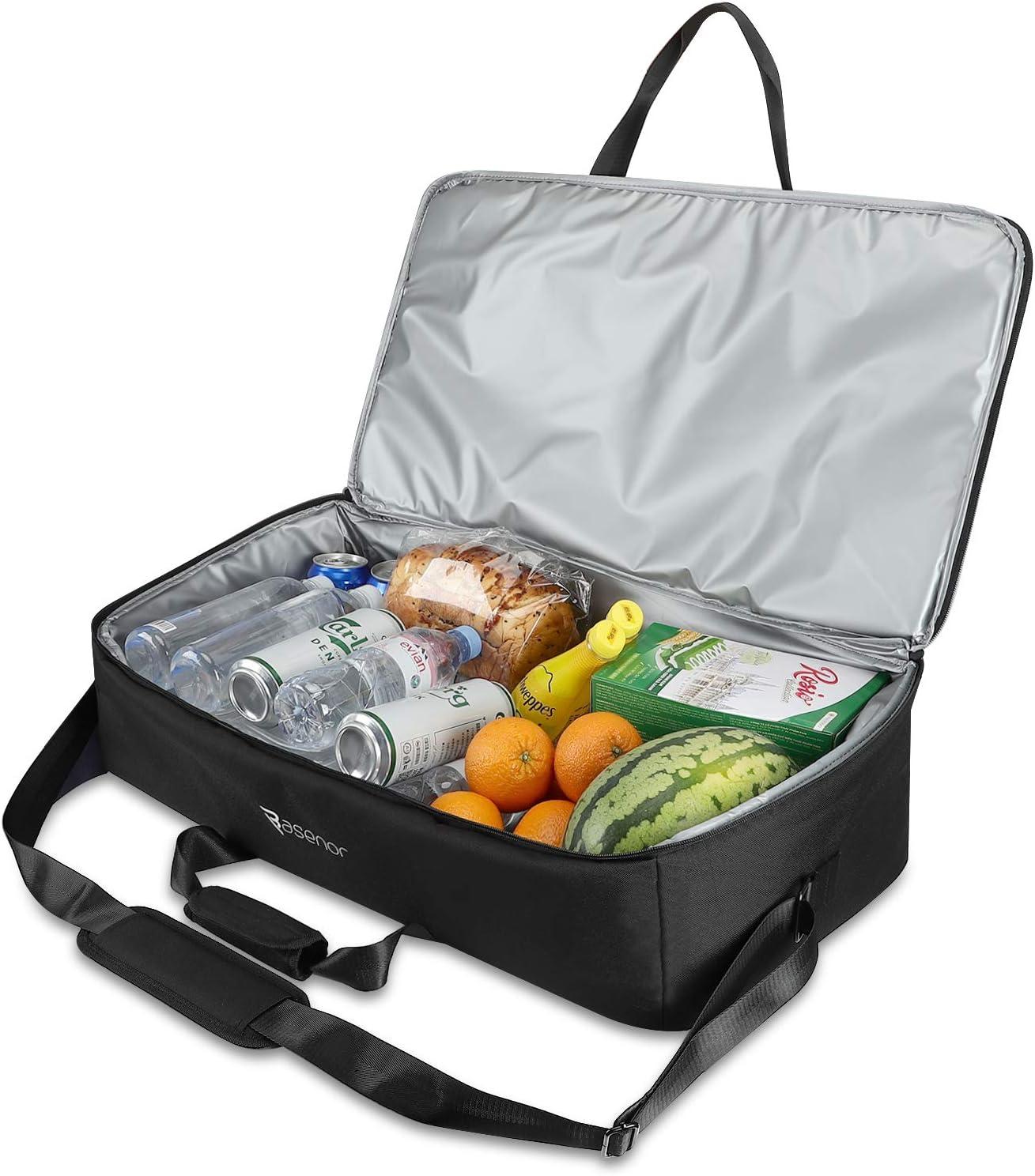 Tesla Model 3 Model Y Model X Frunk Cooler Organizer Insulation Cooler Bag with Mesh Pockets
