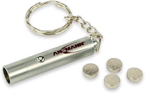 Led Handgranaten Taschenlampe Schlüsselanhänger Super Metal Bright Keyring Z1D7
