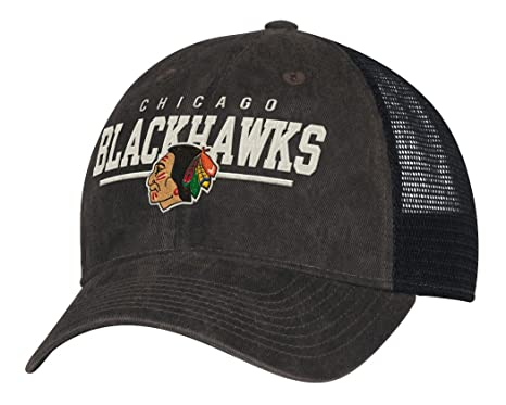 823e043cd9834 Image Unavailable. Image not available for. Color  adidas Chicago  Blackhawks CCM NHL Historic Slouch Adjustable Mesh Back Hat