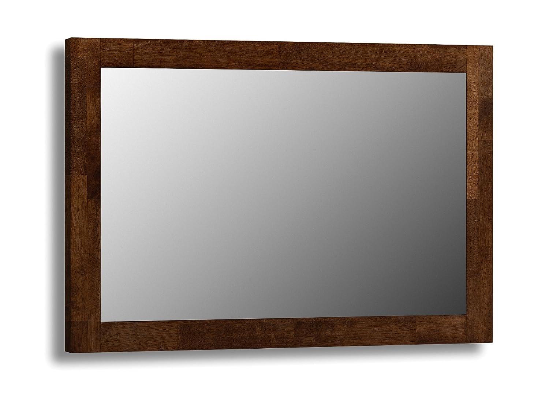 Greatest Julian Bowen Minuet Mirror, Dark Wood: Amazon.co.uk: Kitchen & Home WS18