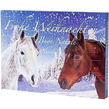 Mädchen Weihnachtskalender.Pureday Adventskalender Schmuck Mit Pferde Motiv Für Kinder Mädchen Teenies Mit Armbändern Kette Collier Charms Beads