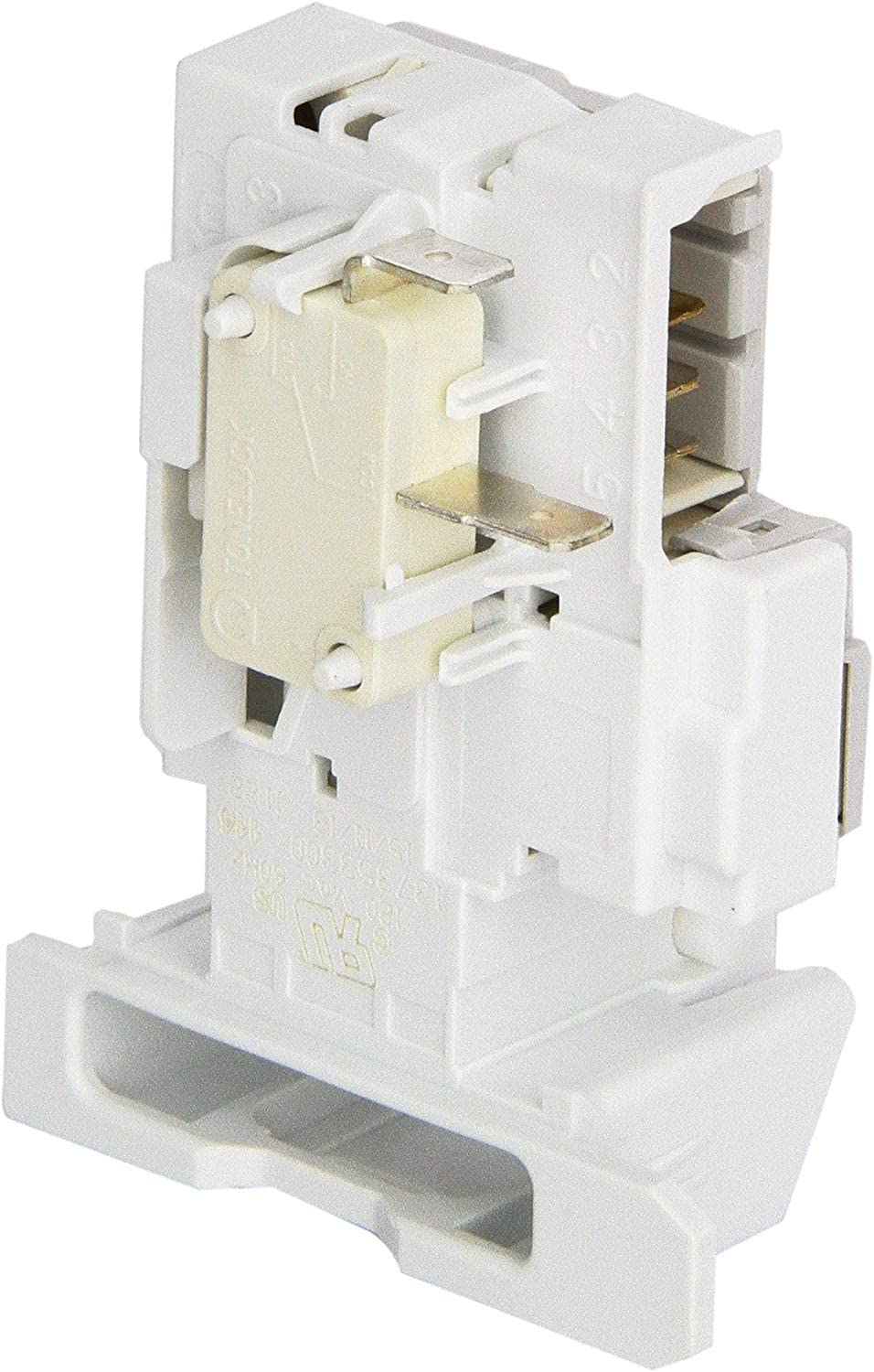 NEW 137353300 Compatible Door Latch with Switch for FRIGIDAIRE Washer, AP5650514 PS5574024 made by OEM Manufacturer - 2 YEAR WARRANTY