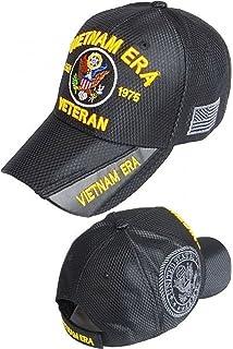 f4158fb74e1157 Amazon.com: Buy Caps and Hats Vietnam ERA Veteran Cap Black LEATHER ...