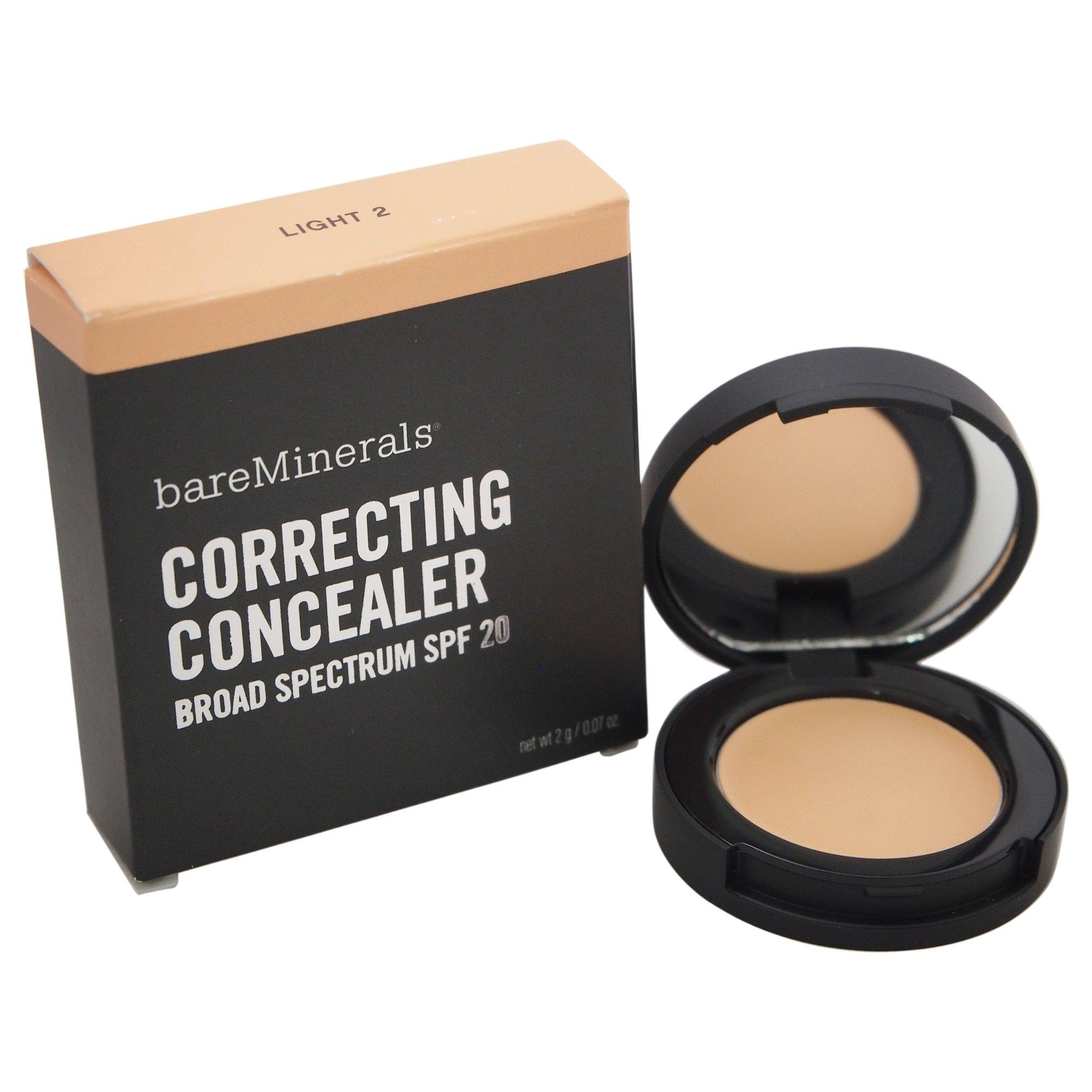 bareMinerals Creamy Correcting Concealer, Light 2 (0.07 Oz/ 2 g)