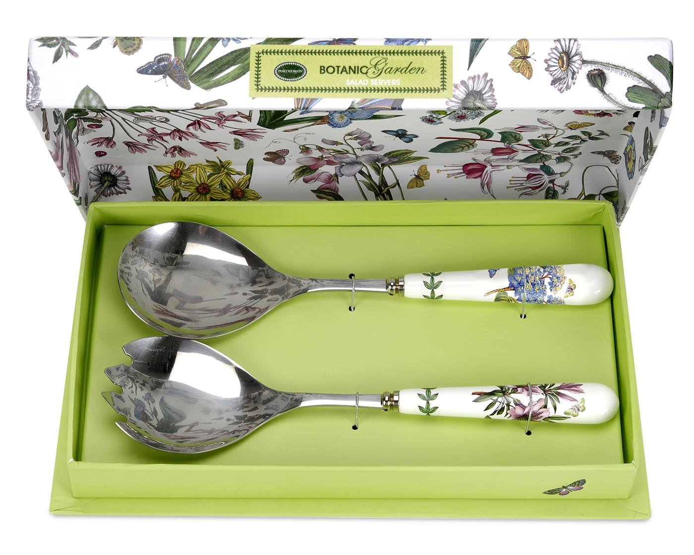 Portmeirion Botanic Garden Salad Server Set