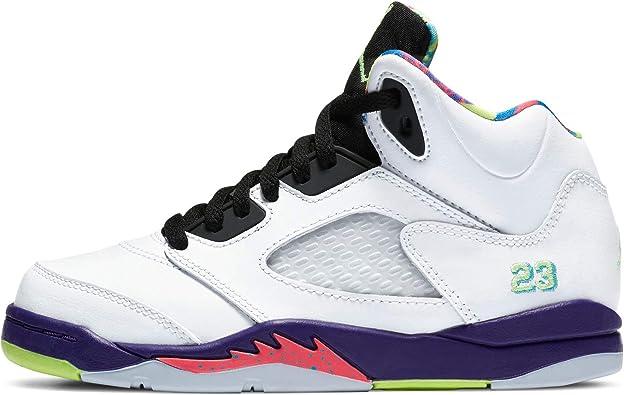 Nike Jordan 5 Retro (ps) Little Kids Casual Fashion Sneaker Db3026-100