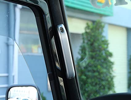 Amazon com: Car Interior Door Grab Handle Frame Trim For