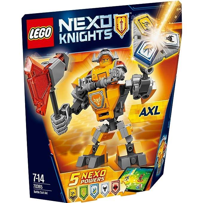 40 opinioni per LEGO Nexo Knights 70365- Set Costruzioni Axl da Battaglia