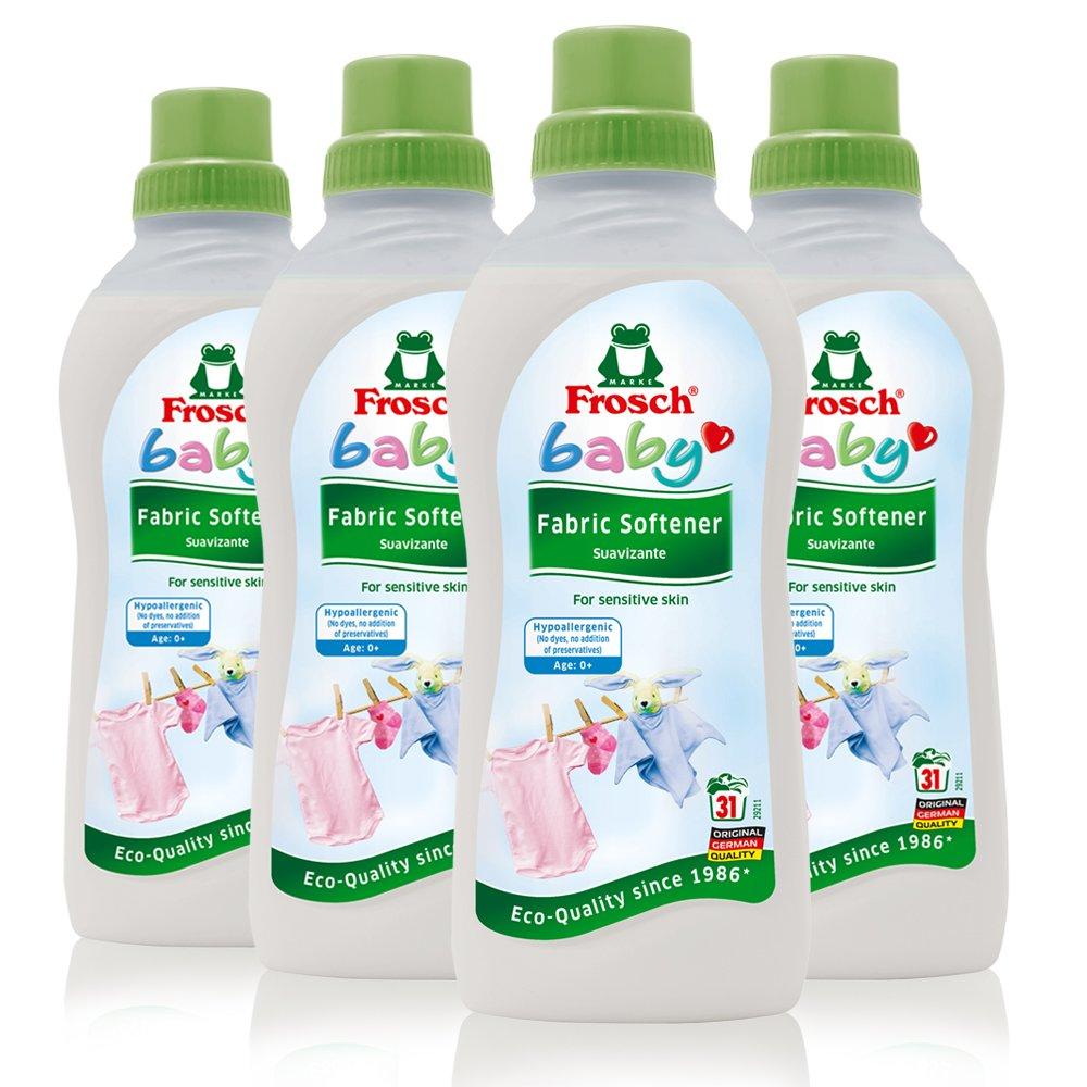 Frosch Baby Liquid Clothes Softener, 750ml (Pack of 4)