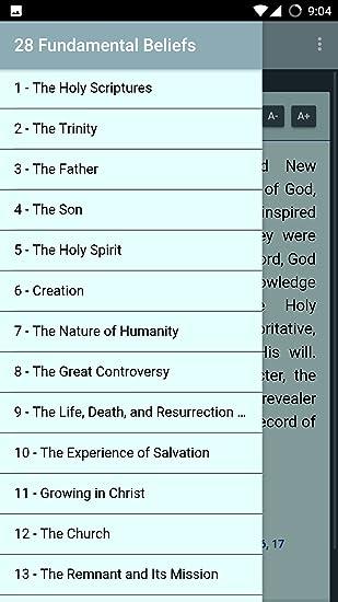 28 fundamental beliefs SDA