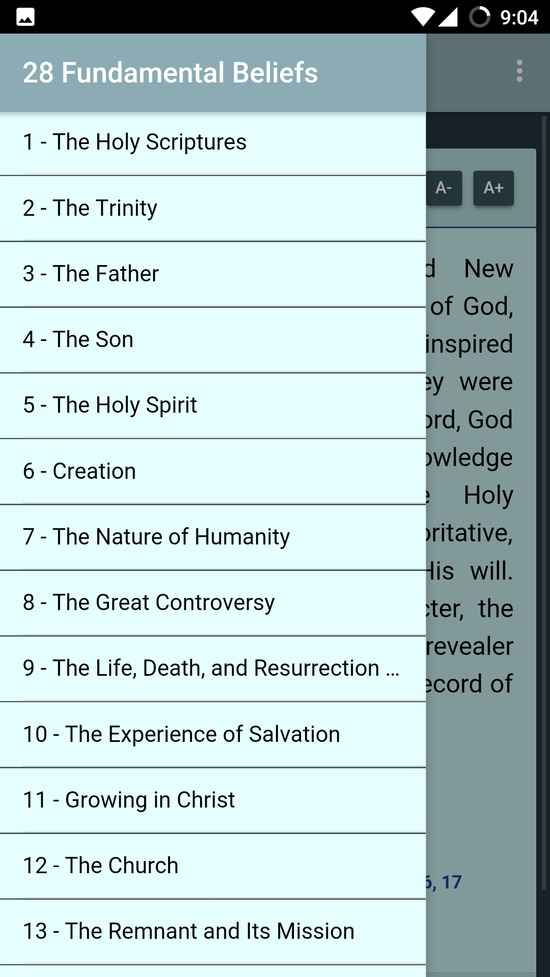 Amazon Com 28 Fundamental Beliefs Sda Appstore For Android