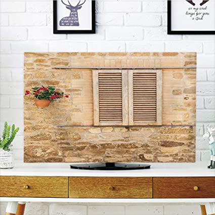 Amazon.com: iPrint LCD TV dust Cover,Tuscan,Rustic Stone House and on country decorated mobile homes, country home design, country home decor, country home goals, country home crafts, country home colors, country home christmas, country home ideas, country home clipart, country home books, country home quotes, country home animals, country home gifts, country home accessories, country home setting, country home art, country home styles, country home screen savers, country home backgrounds,