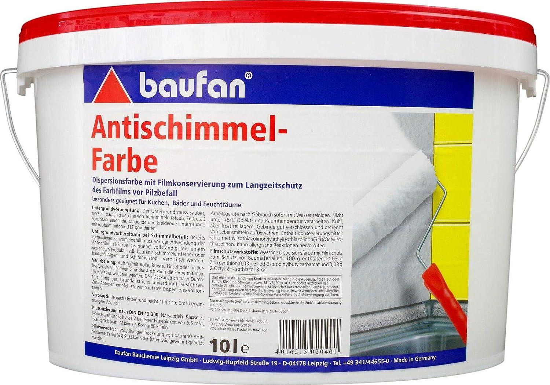 Baufan Antischimmelfarbe Anti-Schimmelfarbe 19,19l