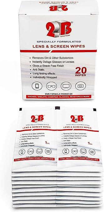 Packatape (20 Pack)Toallitas de Limpieza para Pantalla del Teléfono,Relojes,Gafas,Parabrisas,: Amazon.es: Oficina y papelería