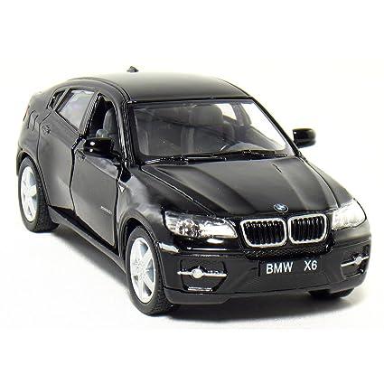 Amazoncom Set of 4 5 BMW X6 SUV 138 Scale BlackRedSilver