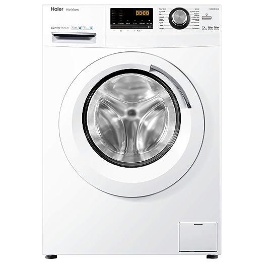 Haier HWD80-B14636 lavadora Carga frontal Independiente Blanco A ...