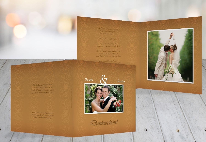 Kartenparadies Danksagung für Hochzeitsgeschenke Hochzeit Danke Eheversprechen, hochwertige Danksagungskarte Hochzeitsglückwünsche inklusive Umschläge   10 Karten - (Format  145x145 mm) Farbe  flamingoOrangerot B01NAVRWWH | Vorzüglich