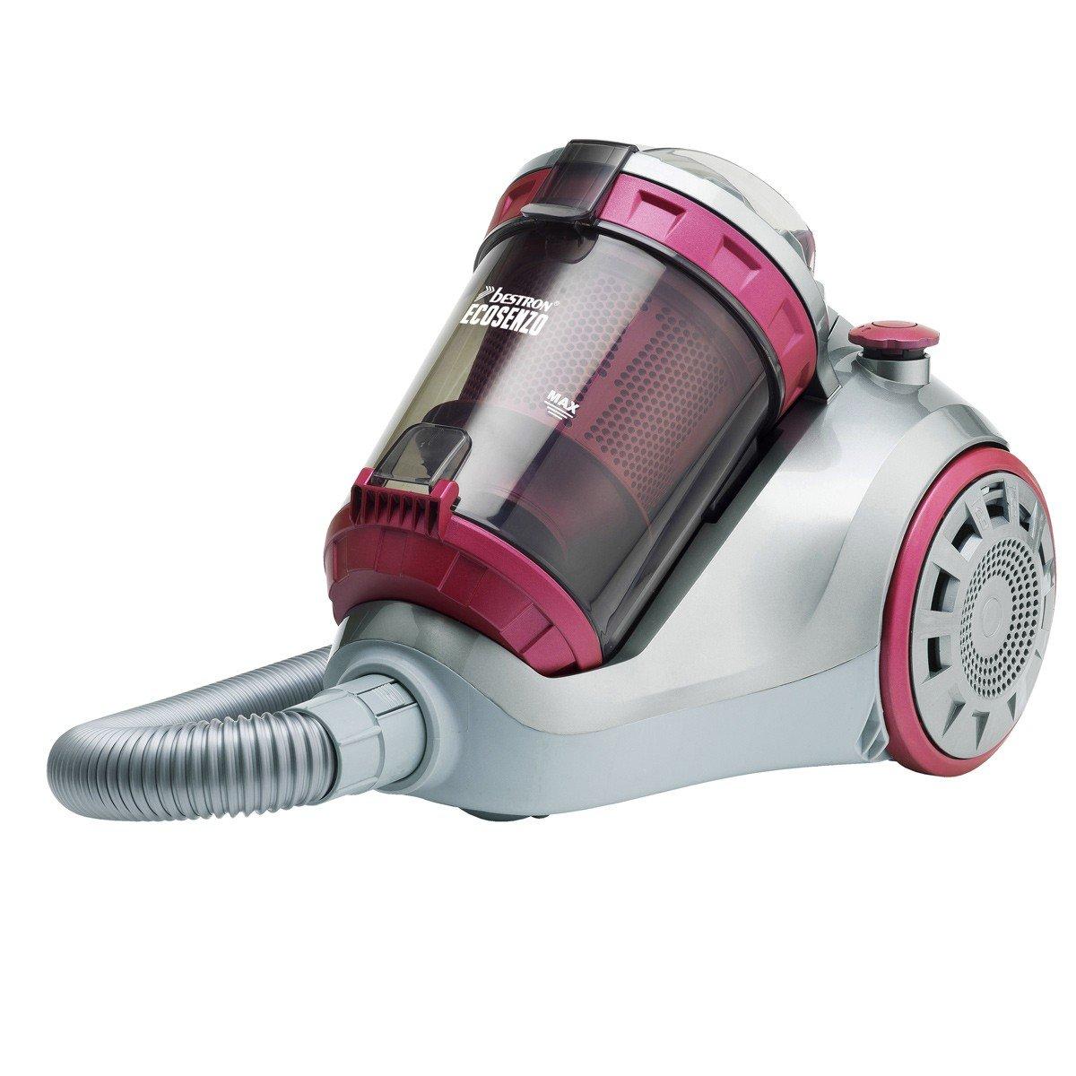 Bestron Ecosenzo - Aspiradora (1200 W, A, 26,7 kWh, 220-240, 50/60, Aspiradora cilíndrica): Amazon.es: Hogar