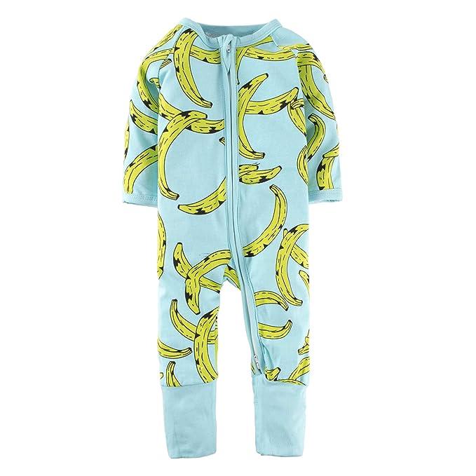 BIG ELEPHANT - Mono - para bebé niño Verde Verde Claro 0-3 Meses
